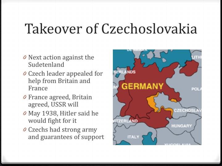 Takeover of Czechoslovakia
