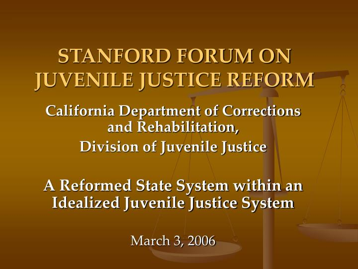 a need for a reform in the american juvenile justice system According to a recent national survey, 3 out of 4 americans agree that the juvenile justice system should focus on rehabilitation rather than incarceration and should provide youth with more opportunities to better themselves.