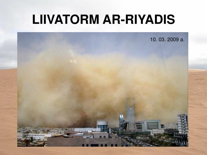 LIIVATORM AR-RIYADIS