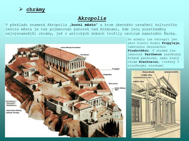 chrámy