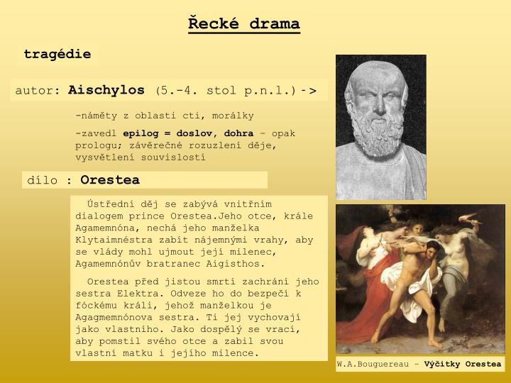 Řecké drama