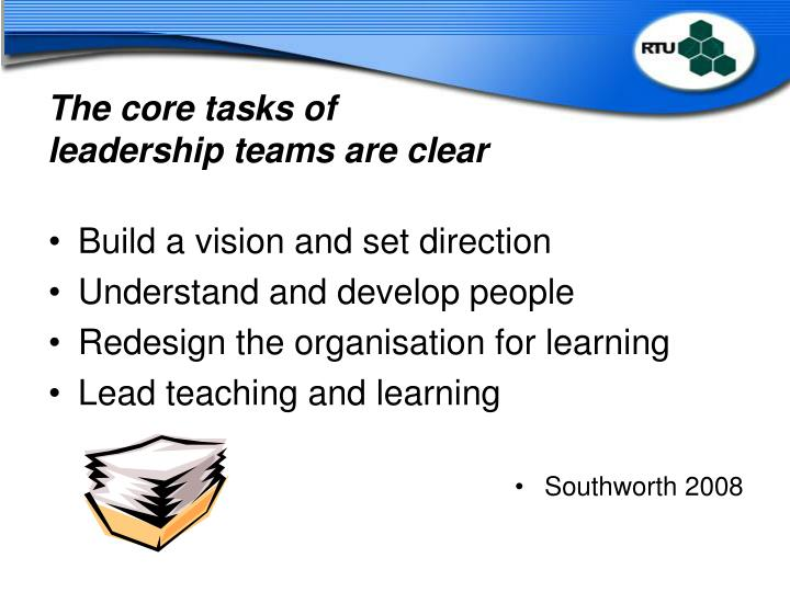 The core tasks of