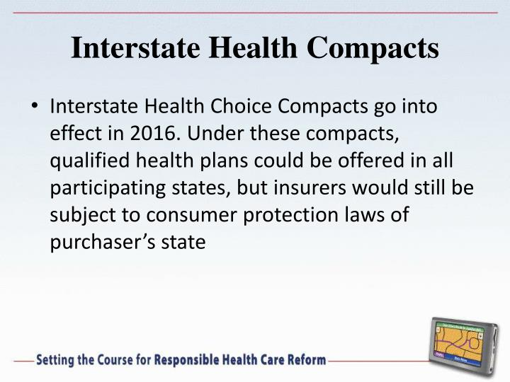 Interstate Health Compacts