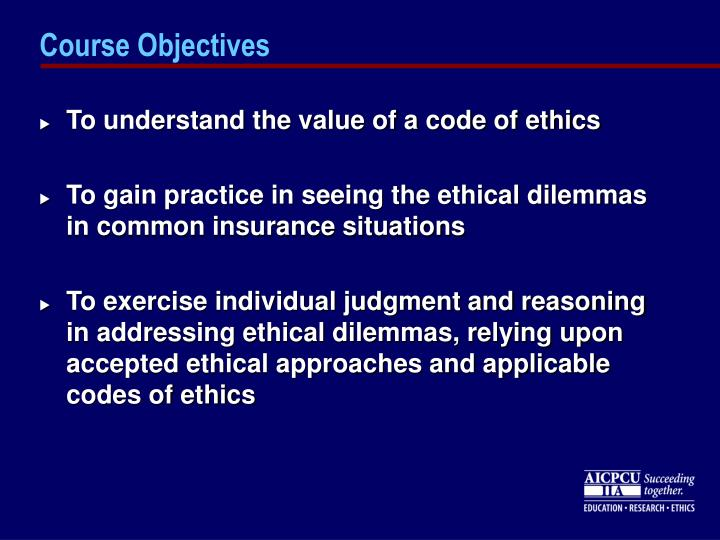 Course objectives1