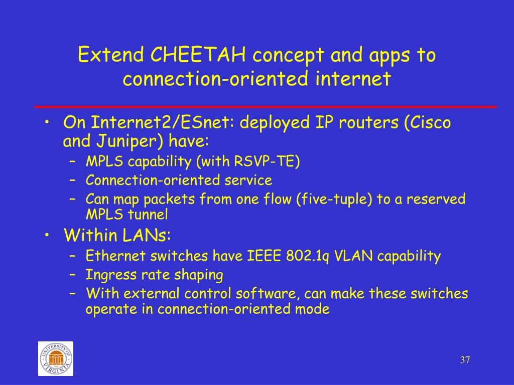 PPT - Enabling a connection-oriented internet PowerPoint
