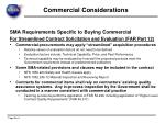commercial considerations3