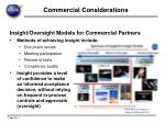 commercial considerations4
