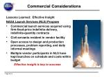 commercial considerations5