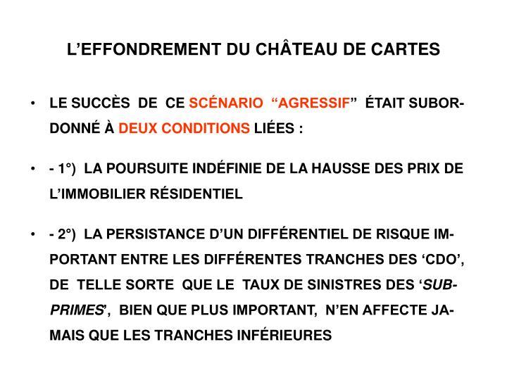 L'EFFONDREMENT DU CH