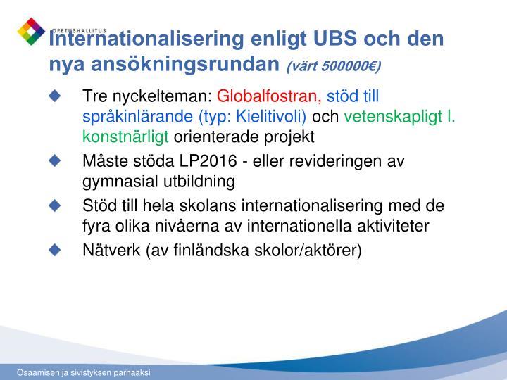 Internationalisering