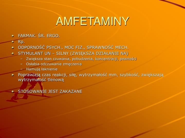 AMFETAMINY