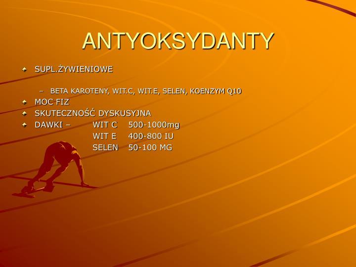 ANTYOKSYDANTY