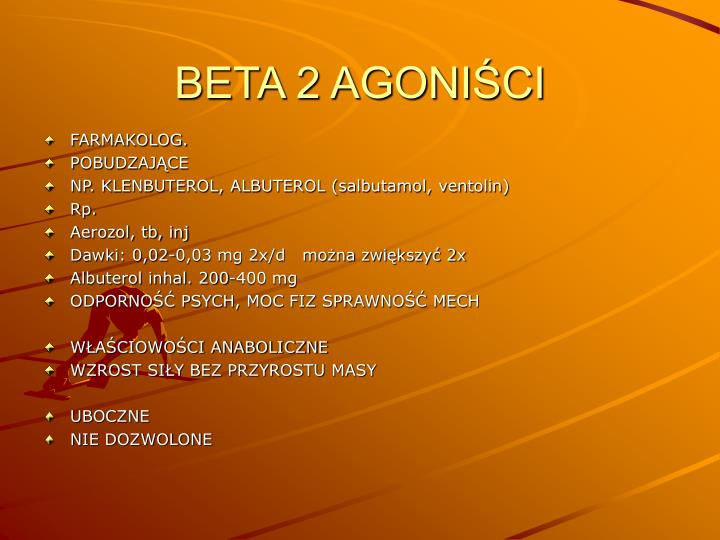 BETA 2 AGONIŚCI