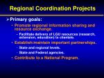 regional coordination projects1