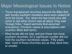 major missiological issues to notice4