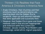 thirteen 13 realities that face america christians in america now2