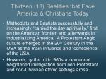 thirteen 13 realities that face america christians today3