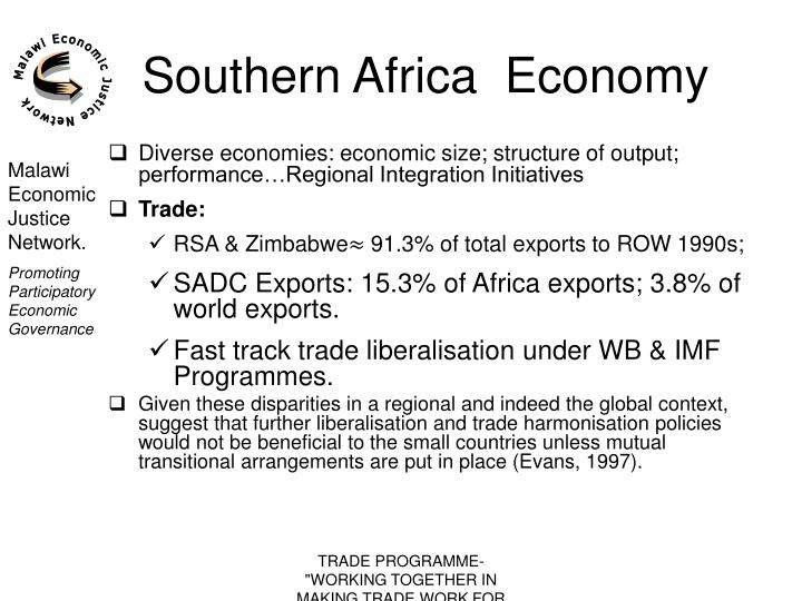 Southern africa economy