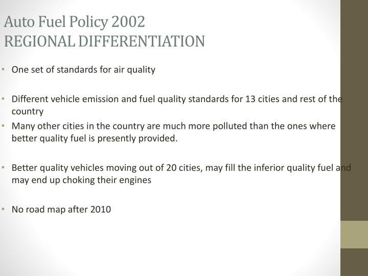 Auto Fuel