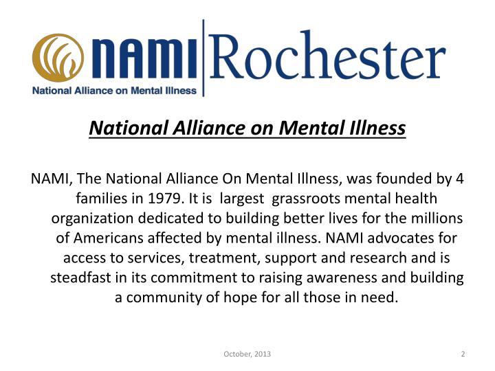 National Alliance on Mental Illness