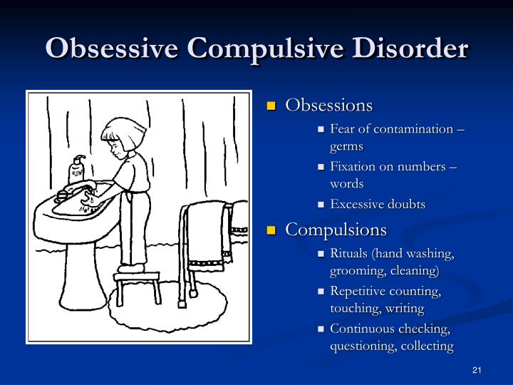 recognizing and proper handling on obsessive compulsive disorder What are some warning signs of mental illness  obsessive compulsive disorder  dropping off of routines or work-loss of interest-also changes in the handling.