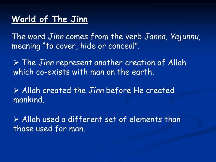 World of The Jinn