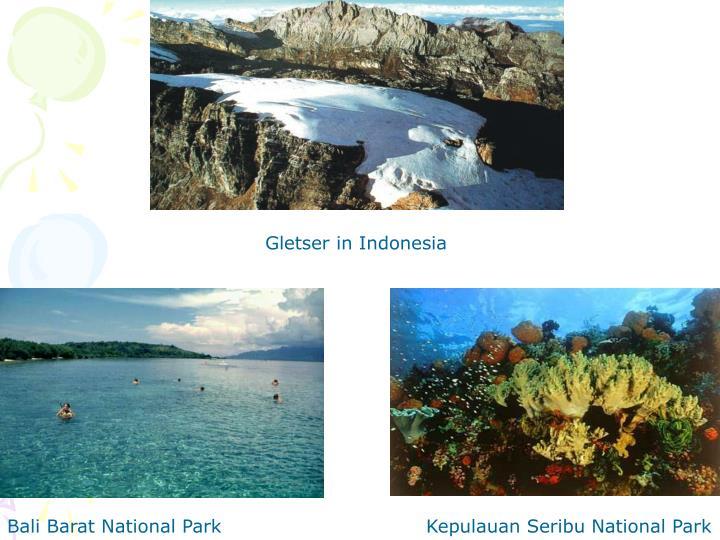 Gletser in Indonesia