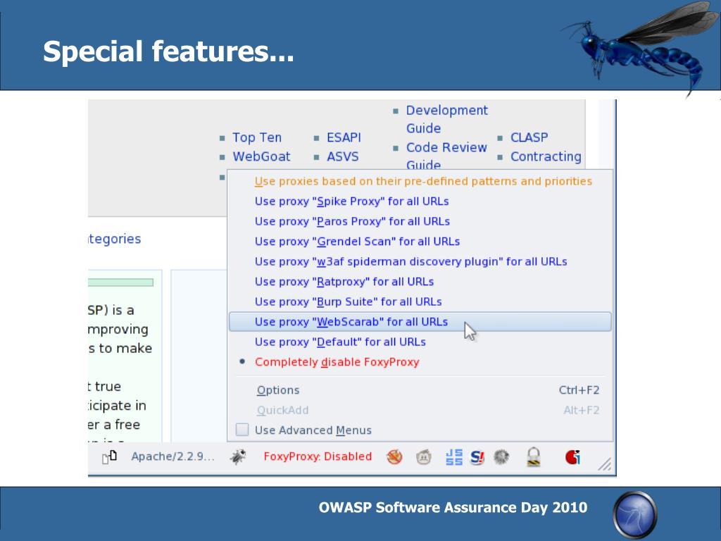 PPT - OWASP WTE: An open environment for web application security