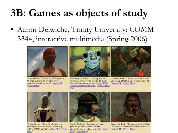 Aaron Delwiche, Trinity University: COMM 3344, interactive multimedia (Spring 2006)