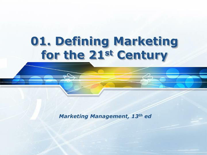 holistic marketing concept meet challenge of 21st century