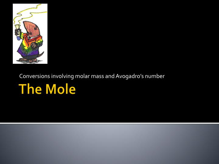 Conversions involving molar mass and avogadro s number