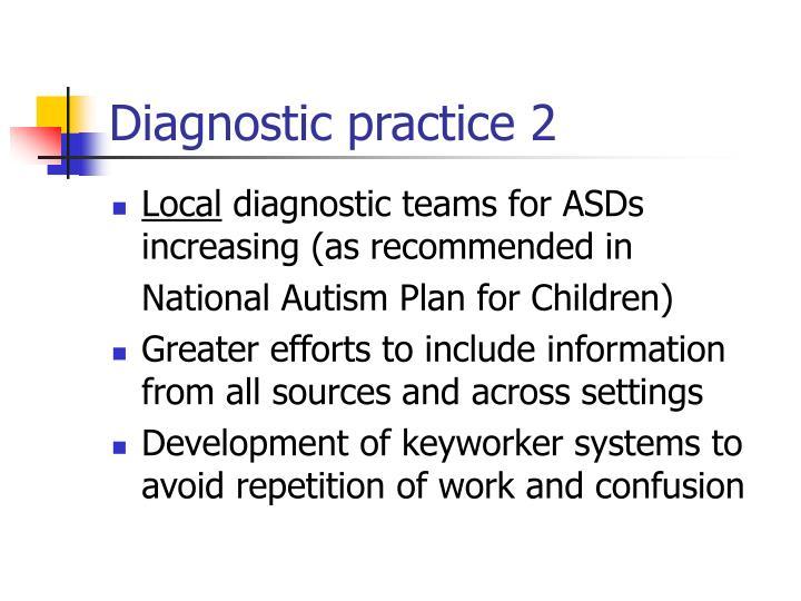 Diagnostic practice 2