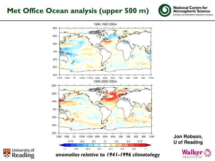 Met Office Ocean analysis (upper 500 m)