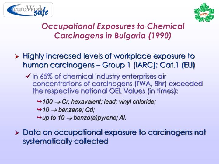 workplace carcinogens The international agency for research on cancer (iarc) classifies formaldehyde as a human carcinogen in 2011, the national toxicology program, an.