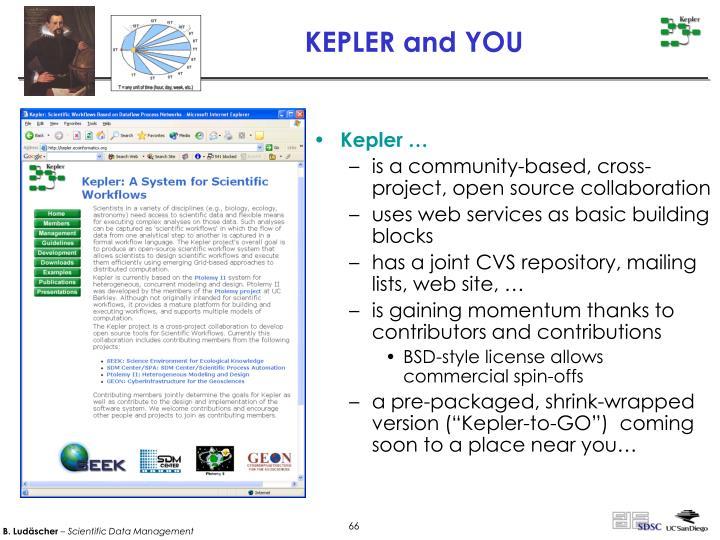Kepler …
