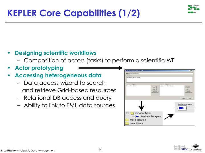 KEPLER Core Capabilities (1/2)