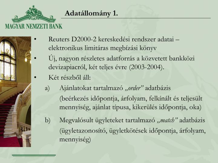 Adatállomány 1.