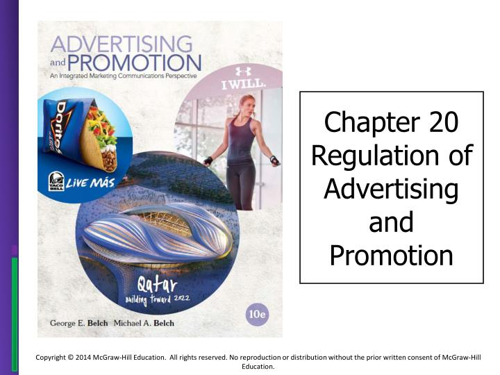 chapter 20 regulation of advertising and promotion n.