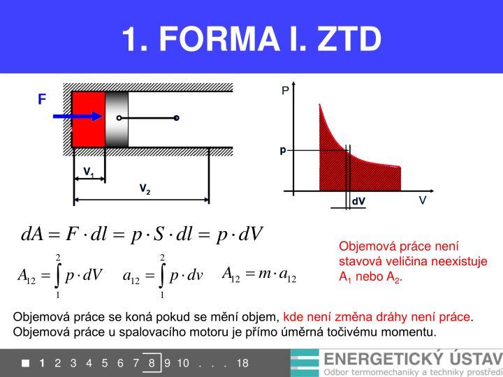 1. FORMA I. ZTD