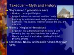 takeover myth and history1