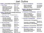 joel outline