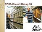 nara record group 55