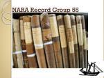 nara record group 551
