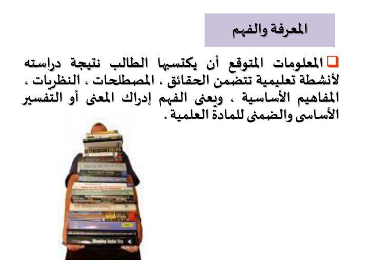 المعرفة والفهم