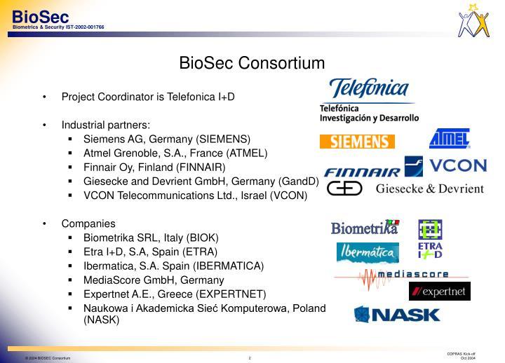 Biosec consortium