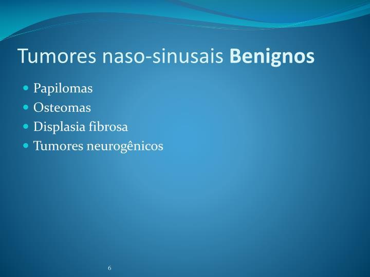 Tumores naso-sinusais
