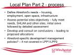 local plan part 2 process