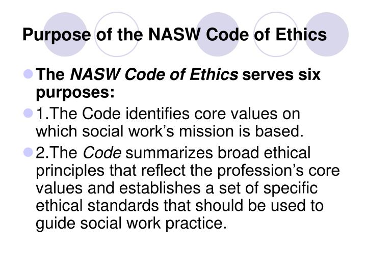image relating to Nasw Code of Ethics Printable called social function main values -