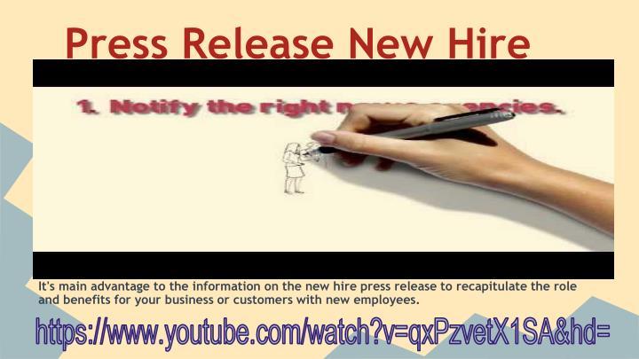 Press release writing service boilerplate