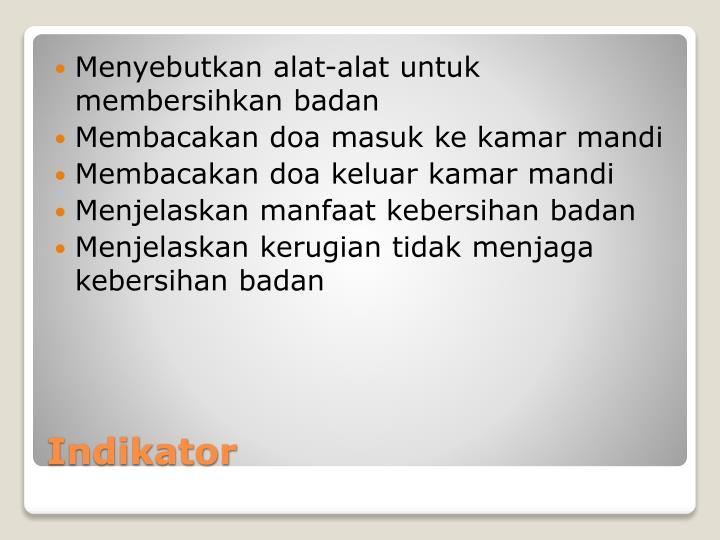 I ndikator